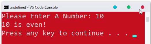 تعیین زوج یا فرد بودن عددی در پایتون